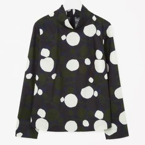 COS printed boxy top 4